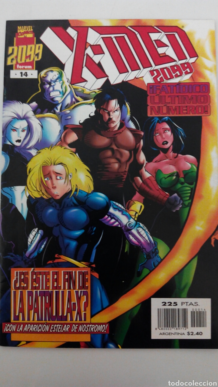X-MEN 2099 VOL.2 N° 14 VOLUMEN 2 (Tebeos y Comics - Forum - X-Men)