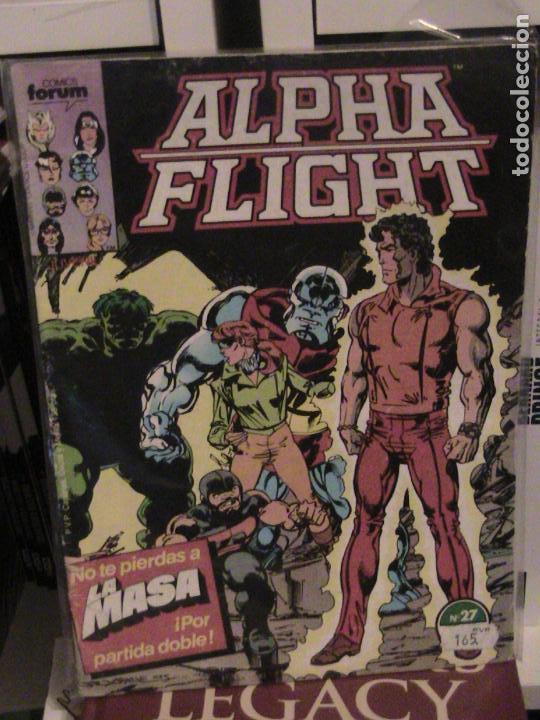 ALPHA FLIGHT Nº 27. FORUM. (Tebeos y Comics - Forum - Alpha Flight)