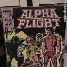 Cómics: ALPHA FLIGHT Nº 27. FORUM.. Lote 148991526