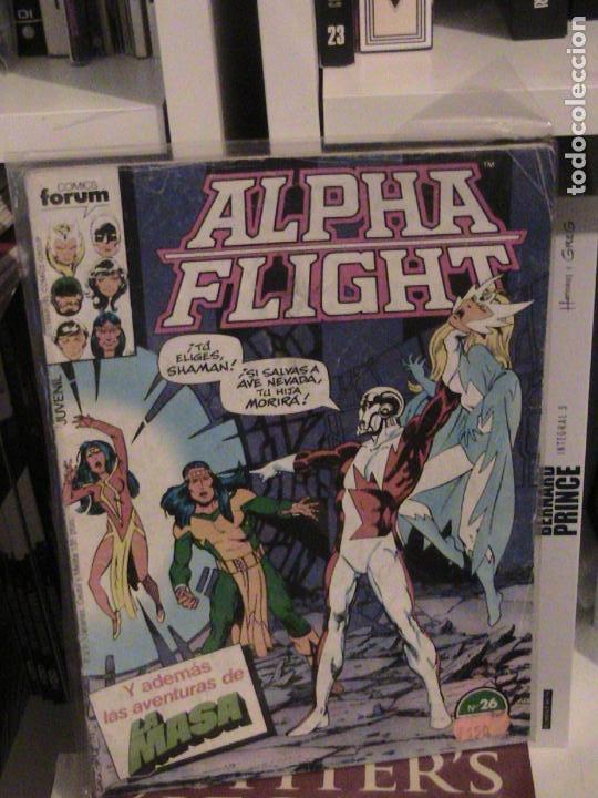 ALPHA FLIGHT Nº 26. FORUM. (Tebeos y Comics - Forum - Alpha Flight)