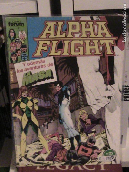 ALPHA FLIGHT Nº 25. FORUM. (Tebeos y Comics - Forum - Alpha Flight)