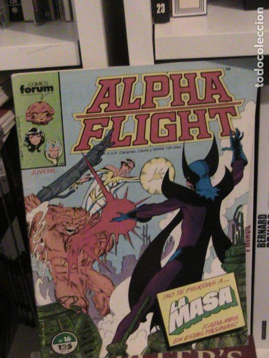 ALPHA FLIGHT Nº 16. FORUM. (Tebeos y Comics - Forum - Alpha Flight)