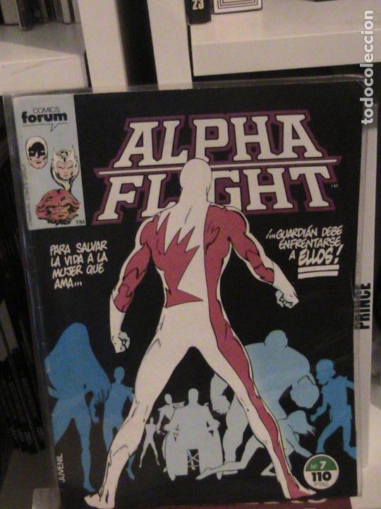 ALPHA FLIGHT Nº 07. FORUM. (Tebeos y Comics - Forum - Alpha Flight)