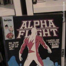 Cómics: ALPHA FLIGHT Nº 07. FORUM.. Lote 148992034