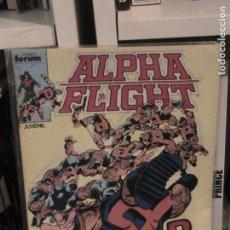 Cómics: ALPHA FLIGHT Nº 04. FORUM.. Lote 148992170