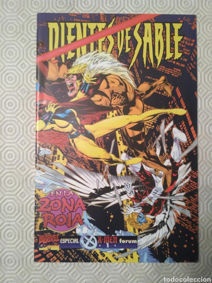 DIENTES DE SABLE - EN LA ZONA ROJA (Tebeos y Comics - Forum - X-Men)