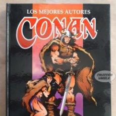 Comics: LOS MEJORES AUTORES DE CONAN - ROY THOMAS - CARTONÉ - FORUM. Lote 149213494