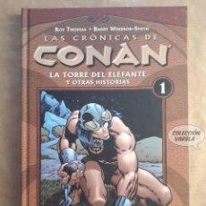 Cómics: LAS CRÓNICAS DE CONAN Nº 1 - ROY THOMAS Y BARRY WINDSOR SMITH - FORUM - JMV. Lote 149232274