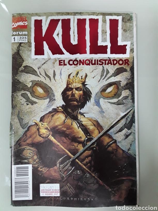 KULL EL CONQUISTADOR. FORUM MARVEL COMICS NUMERO 1 (Tebeos y Comics - Forum - Otros Forum)