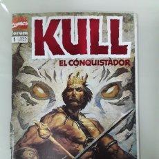 Cómics: KULL EL CONQUISTADOR. FORUM MARVEL COMICS NUMERO 1. Lote 154191048