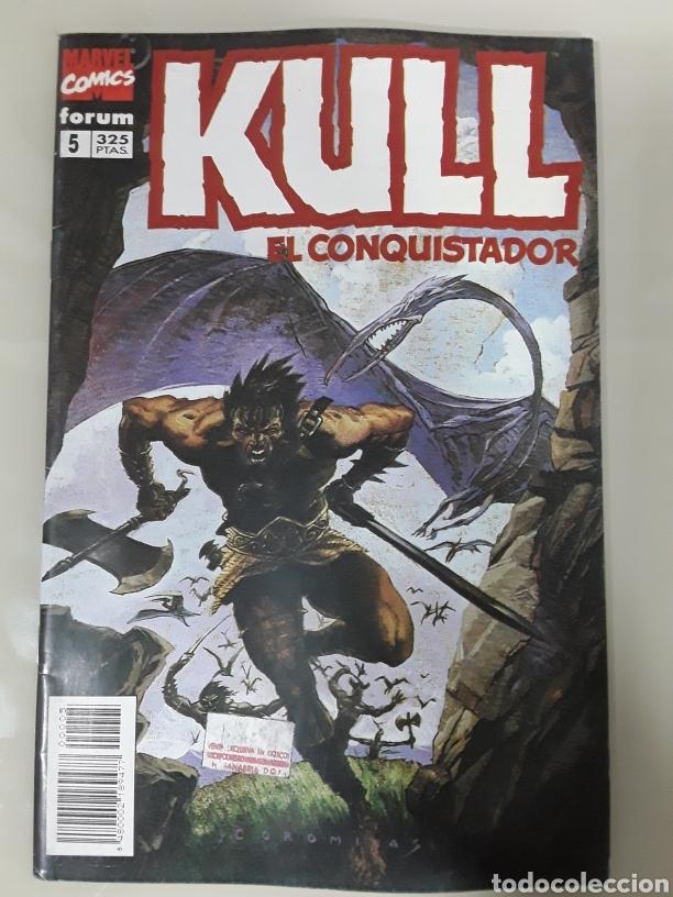 KULL EL CONQUISTADOR. FORUM MARVEL COMICS NUMERO 5 (Tebeos y Comics - Forum - Otros Forum)
