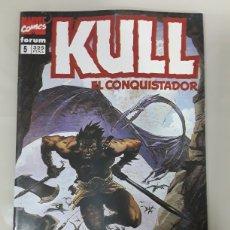 Cómics: KULL EL CONQUISTADOR. FORUM MARVEL COMICS NUMERO 5. Lote 149243478