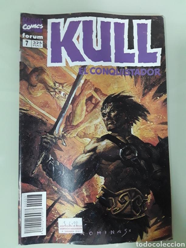KULL EL CONQUISTADOR. FORUM MARVEL COMICS NUMERO 7 (Tebeos y Comics - Forum - Otros Forum)