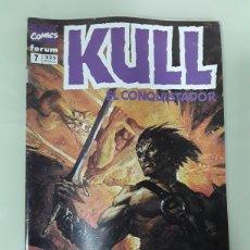 Cómics: KULL EL CONQUISTADOR. FORUM MARVEL COMICS NUMERO 7. Lote 149243628