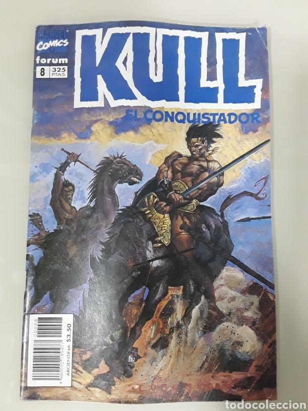 KULL EL CONQUISTADOR. FORUM MARVEL COMICS NUMERO 8 (Tebeos y Comics - Forum - Otros Forum)