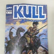 Cómics: KULL EL CONQUISTADOR. FORUM MARVEL COMICS NUMERO 8. Lote 149243688