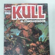 Cómics: KULL EL CONQUISTADOR. FORUM MARVEL COMICS NUMERO 9. Lote 158973489