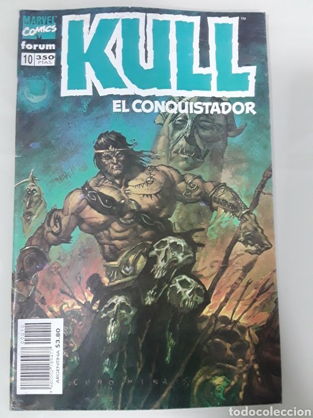 KULL EL CONQUISTADOR. FORUM MARVEL COMICS NUMERO 10 (Tebeos y Comics - Forum - Otros Forum)