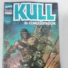 Cómics: KULL EL CONQUISTADOR. FORUM MARVEL COMICS NUMERO 10. Lote 149243873