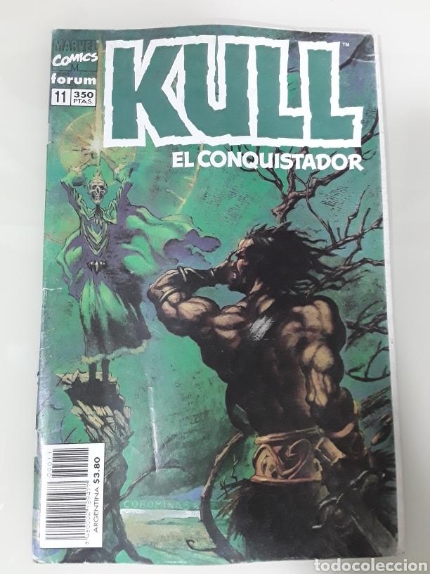 KULL EL CONQUISTADOR. FORUM MARVEL COMICS NUMERO 11 (Tebeos y Comics - Forum - Otros Forum)