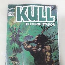 Cómics: KULL EL CONQUISTADOR. FORUM MARVEL COMICS NUMERO 11. Lote 149243933