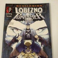 Cómics: LOBEZNO - PUNISHER. REVELACION. Lote 149284498