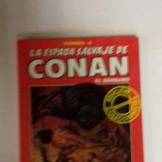 Cómics: LA ESPADA SALVAJE DE CONAN TOMO ROJO 03 EDICIÓN COLECCIONISTAS DE FORUM. Lote 178043945