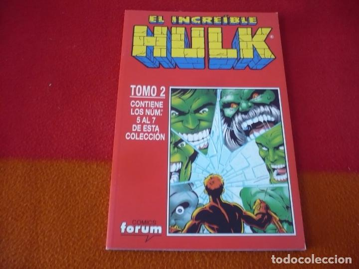 HULK VOL. 2 NºS 5, 6 Y 7 ( PETER DAVID ) RETAPADO ¡MUY BUEN ESTADO! FORUM MARVEL (Tebeos y Comics - Forum - Hulk)