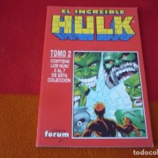 Cómics: HULK VOL. 2 NºS 5, 6 Y 7 ( PETER DAVID ) RETAPADO ¡MUY BUEN ESTADO! FORUM MARVEL. Lote 149360850