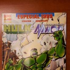 Cómics: HULK & NAMOR ESPECIAL 1999 COOPER WHEATLEY -IMPECABLE!. Lote 149614190