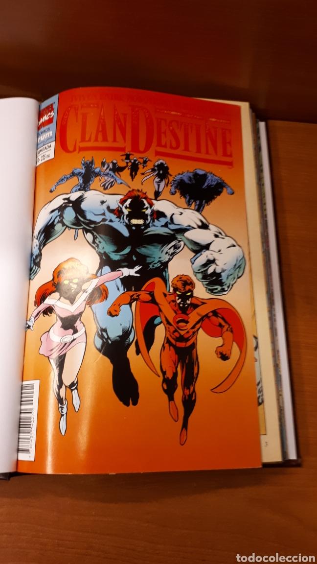 Cómics: Clandestine 1 al 9 completa encuadernada en un tomo sin guillotinar los comics -Impecable!! - Foto 2 - 149664786