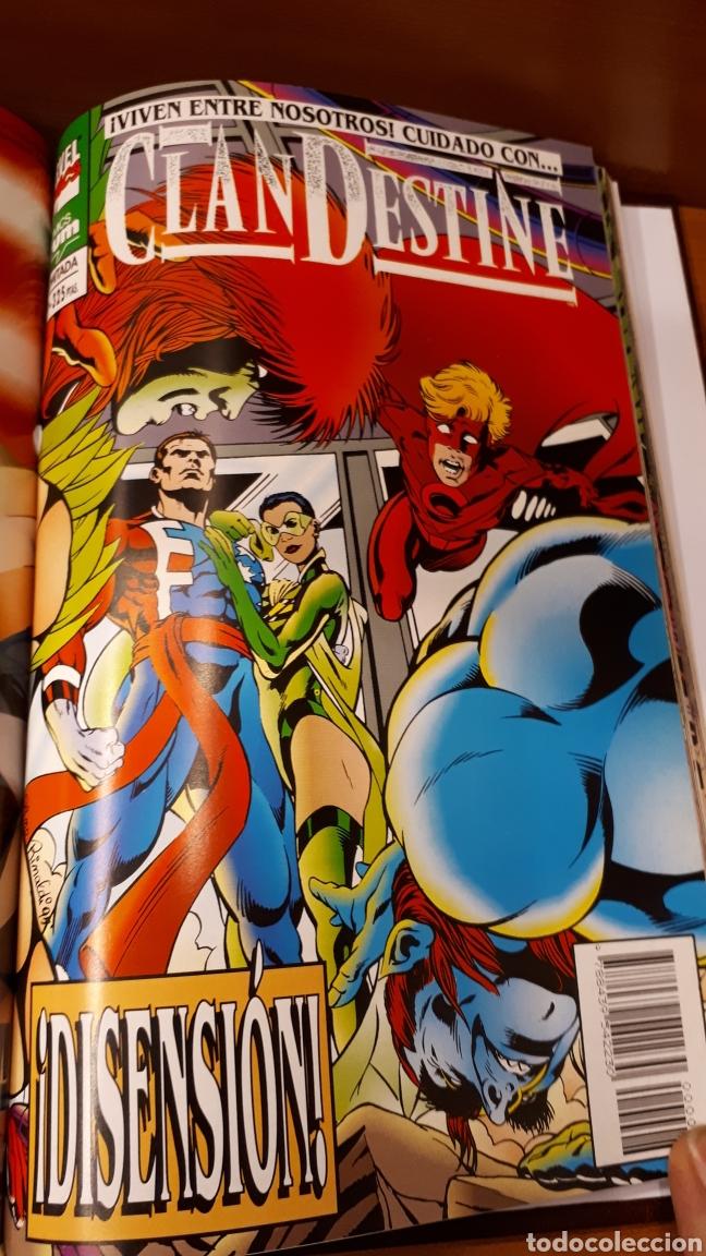 Cómics: Clandestine 1 al 9 completa encuadernada en un tomo sin guillotinar los comics -Impecable!! - Foto 3 - 149664786