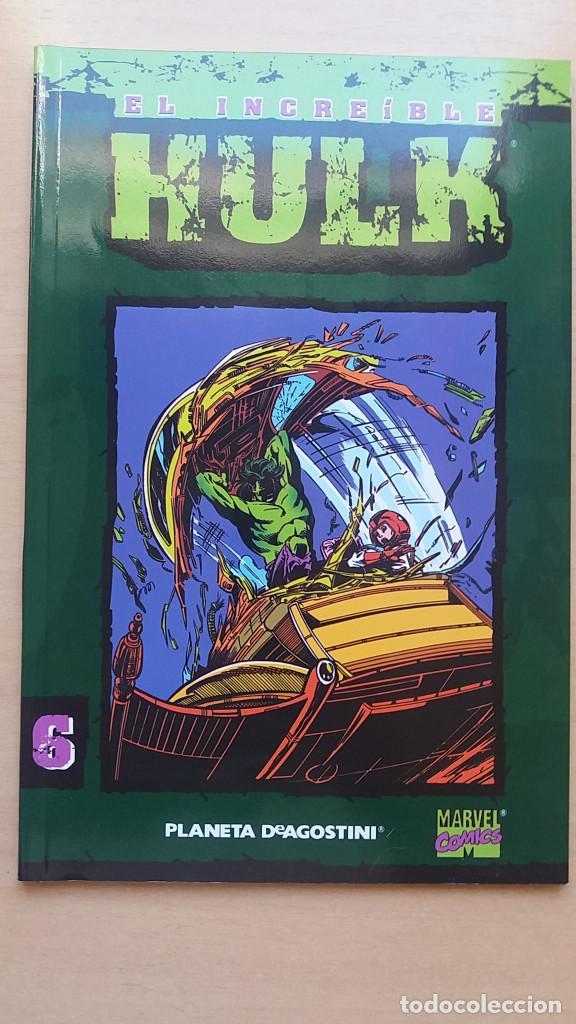 Nº 6 EL INCREÍBLE HULK COLECCIONABLE FORUM. BUEN ESTADO. (Tebeos y Comics - Forum - Hulk)