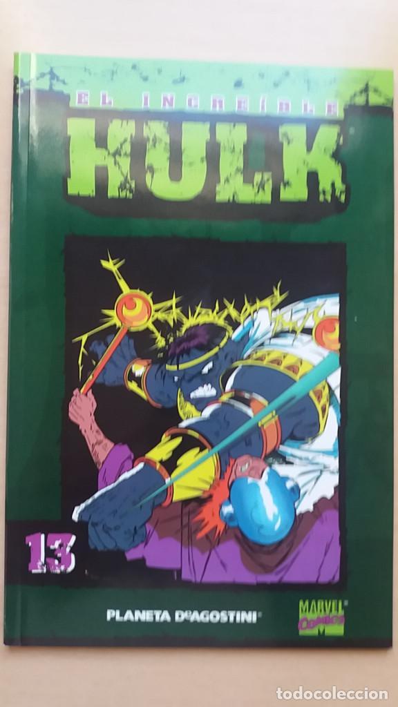 Nº 13 14 EL INCREÍBLE HULK COLECCIONABLE FORUM. BUEN ESTADO. (Tebeos y Comics - Forum - Hulk)