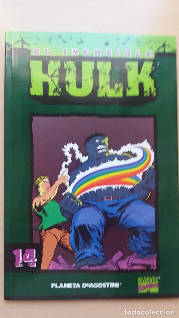 Cómics: Nº 13 14 El increíble Hulk Coleccionable forum. Buen estado. - Foto 2 - 149709982