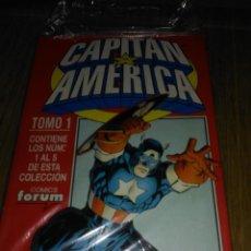Comics: CAPITAN AMÉRICA VOL. 3 COMPLETA EN 2 RETAPADOS. Lote 149717142
