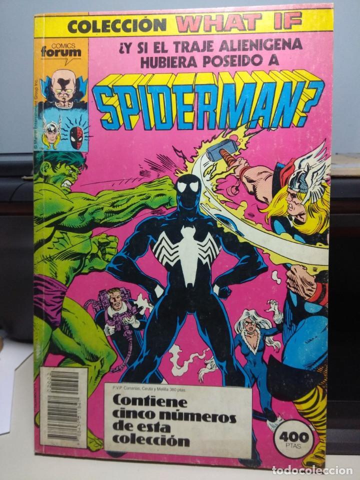 SPIDERMAN TRAJE ALIENIGENA ( RETAPADO CONTIENE LOS NUMEROS 6 AL 10) (Tebeos y Comics - Forum - Spiderman)