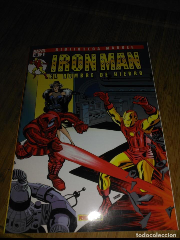 BIBLIOTECA MARVEL IRON MAN Nº 2 FORUM (Tebeos y Comics - Forum - Iron Man)