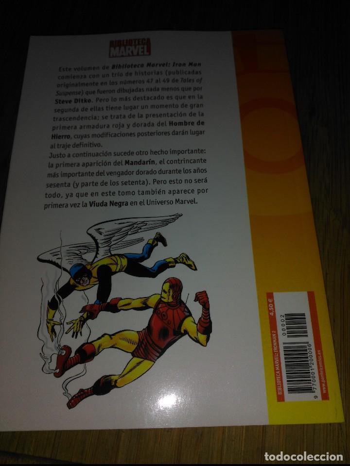 Cómics: Biblioteca marvel IRON MAN Nº 2 FORUM - Foto 2 - 149738590