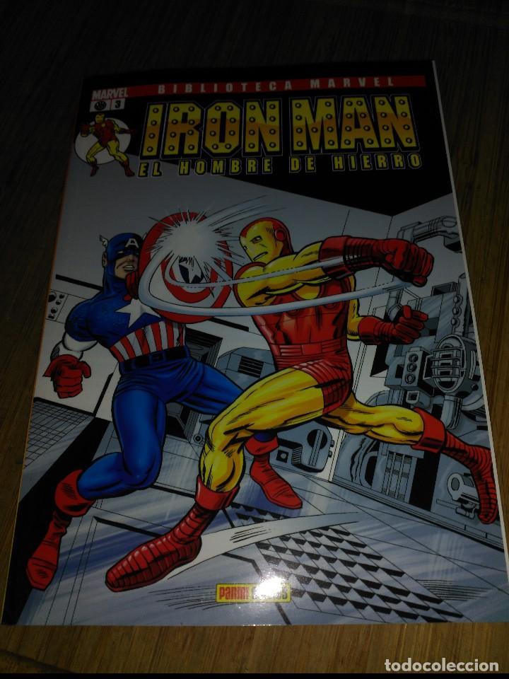 BIBLIOTECA MARVEL IRON MAN Nº 3 FORUM (Tebeos y Comics - Forum - Iron Man)