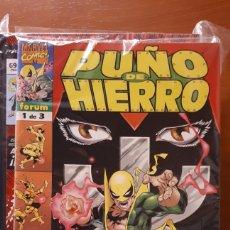Cómics: PUÑO DE HIERRO 1 AL 3 COMPLETA JURGENS GUICE KOBLISH PACHECO -IMPECABLES!. Lote 149786930