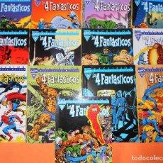 Cómics: LOS 4 FANTASTICOS BIBLIOTECA MARVEL 13 PRIMEROS TOMOS - FORUM. BUEN ESTADO. Lote 149813418