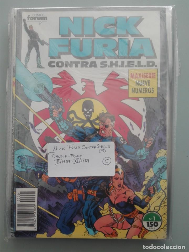 NICK FURIA CONTRA SHIELD COMPLETA 1989# (Tebeos y Comics - Forum - Furia)