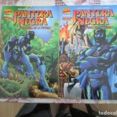 Cómics: PANTERA NEGRA LA PRESA DE LA PANTERA 2 NUMEROS COMPLETA. Lote 149958646
