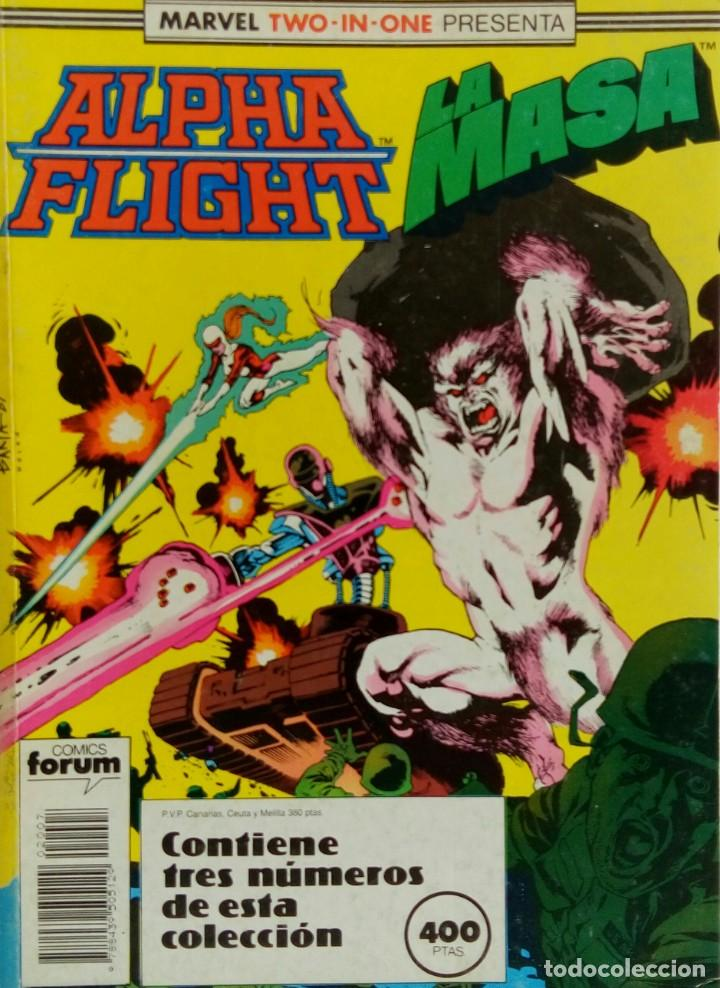 ALPHA FLIGHT + LA MASA - MARVEL TWO IN ONE - Nº45 A 47 (Tebeos y Comics - Forum - Alpha Flight)