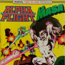 Cómics: ALPHA FLIGHT + LA MASA - MARVEL TWO IN ONE - Nº45 A 47. Lote 150014646