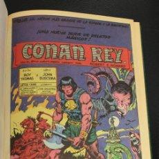 Cómics: CONAN REY 1. EPISODIOS 1 AL 10. FORUM, PLANETA, AÑO 1985. ENCUADERNADO EN TOMO.. Lote 150073005
