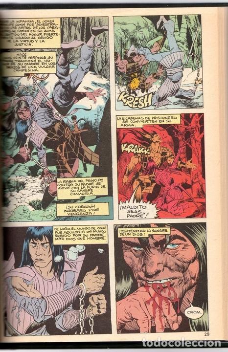 CONAN REY 7. EPISODIOS 61 AL 69. FORUM, PLANETA, AÑO 1985. ENCUADERNADO EN TOMO (Tebeos y Comics - Forum - Conan)