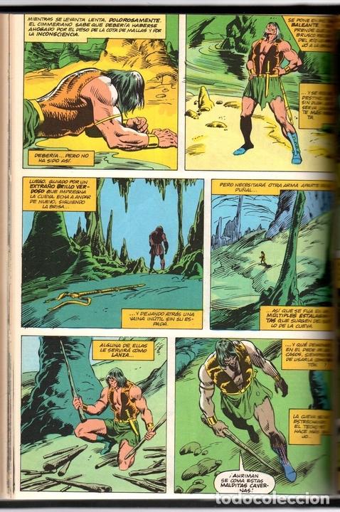 Cómics: CONAN REY 7. EPISODIOS 61 AL 69. FORUM, PLANETA, AÑO 1985. ENCUADERNADO EN TOMO - Foto 2 - 150076636
