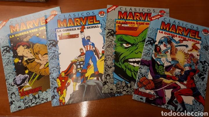 CLÁSICOS MARVEL 1 AL 41 COMPLETA (Tebeos y Comics - Forum - Otros Forum)